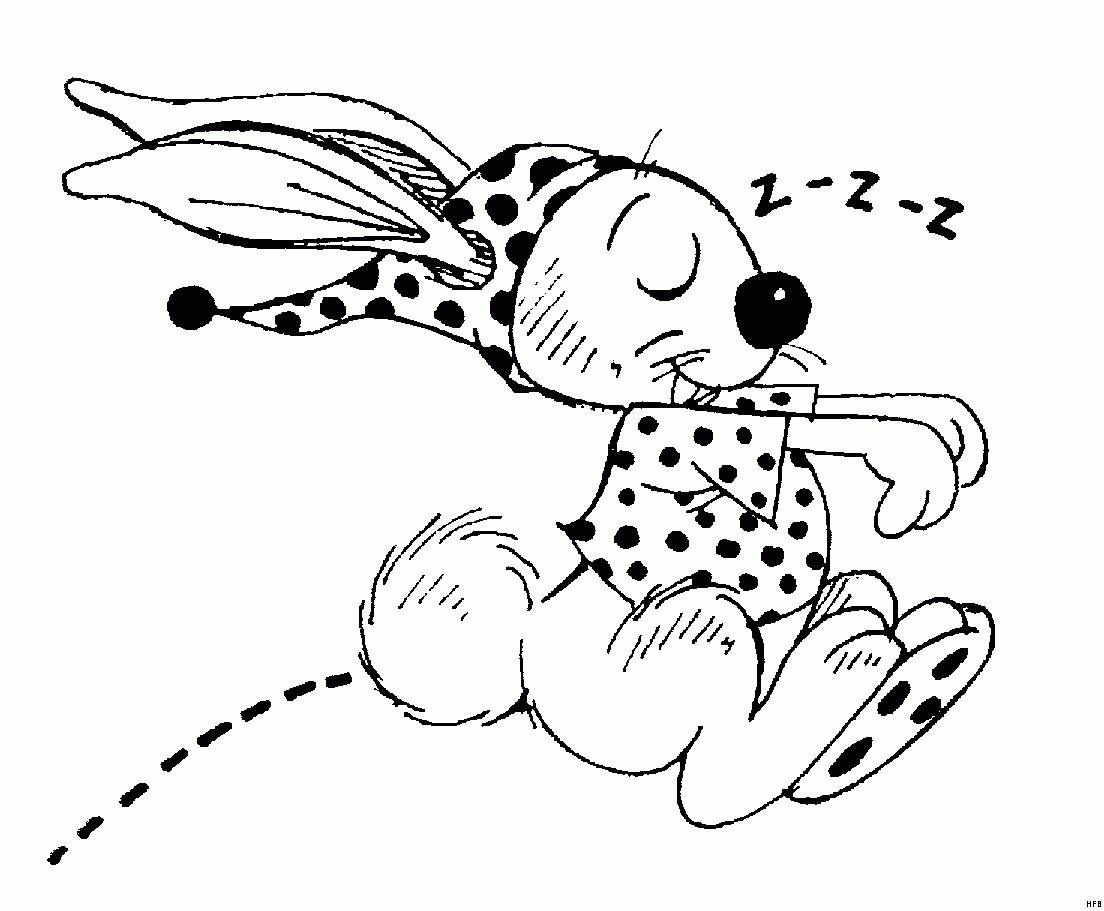 Ausmalbilder Frohe Weihnachten Einzigartig Hase Mit Schlafanzug Ausmalbild & Malvorlage Ics Ganzes Fotos