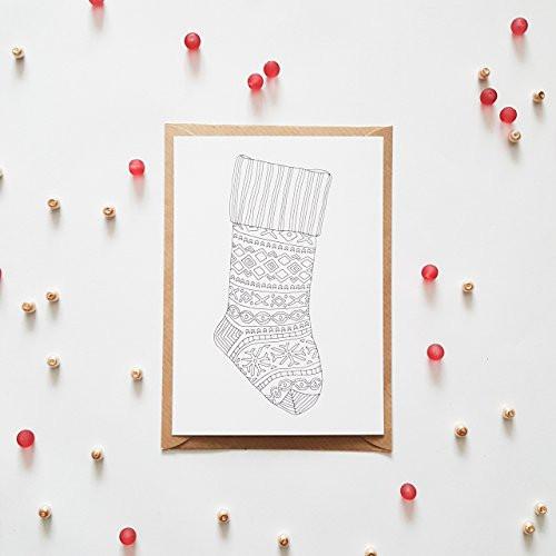 Ausmalbilder Frohe Weihnachten Genial Weihnachtskarten Zum Ausmalen 10 Karten Set Frohe Weihnachten Fotos