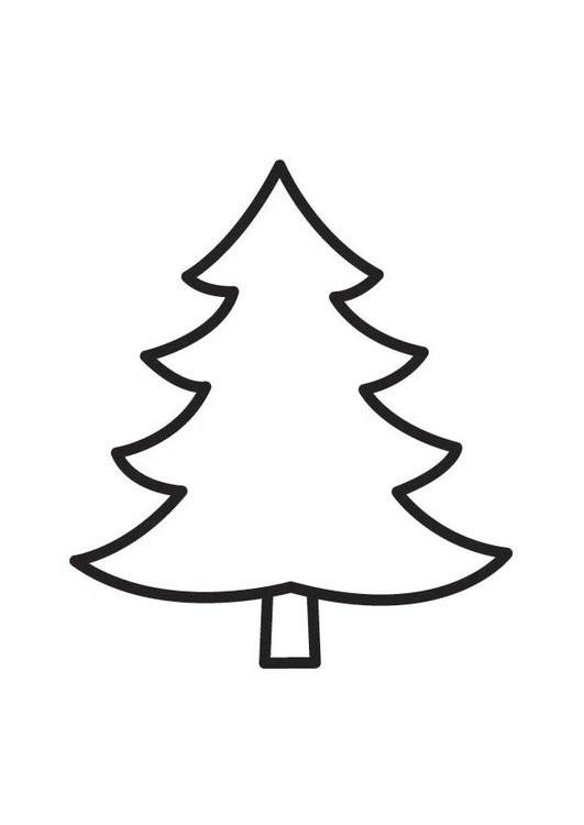 Ausmalbilder Für Kinder Weihnachten Kostenlos Frisch Tannenbaum Umries Malvorlage Fotos