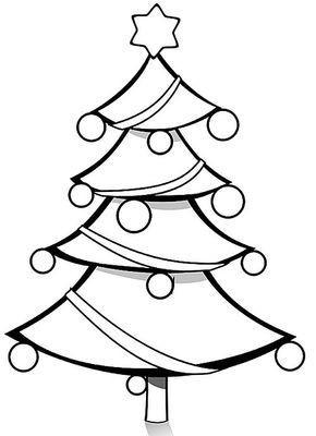 Ausmalbilder Weihnachten Baum Einzigartig Christbaum Malvorlage Bilder