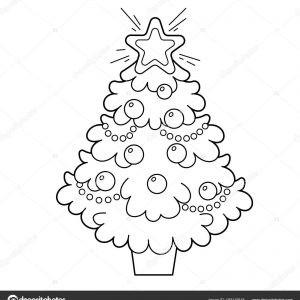 Ausmalbilder Weihnachten Christbaum Frisch Ausmalbilder Weihnachtsbaum Mit Geschenken Unique Stock