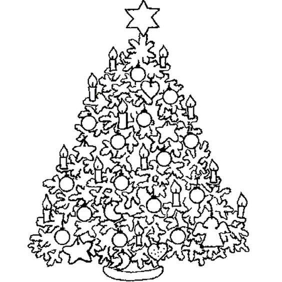 Ausmalbilder Weihnachten Christbaum Frisch Christbäume Malvorlagen Sammlung