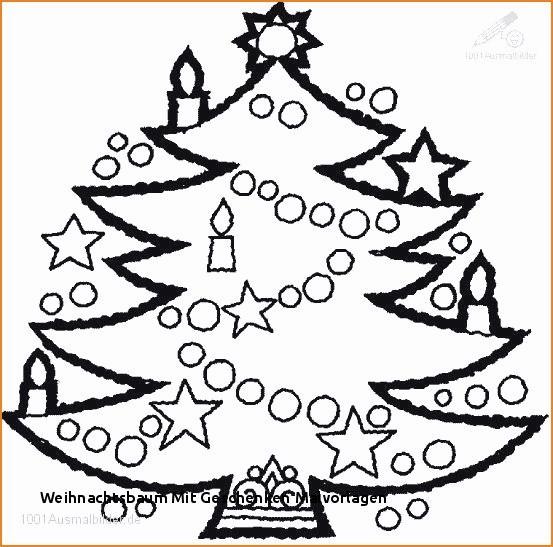 Ausmalbilder Weihnachten Christbaum Frisch Weihnachtsbaum Vorlage Galerie