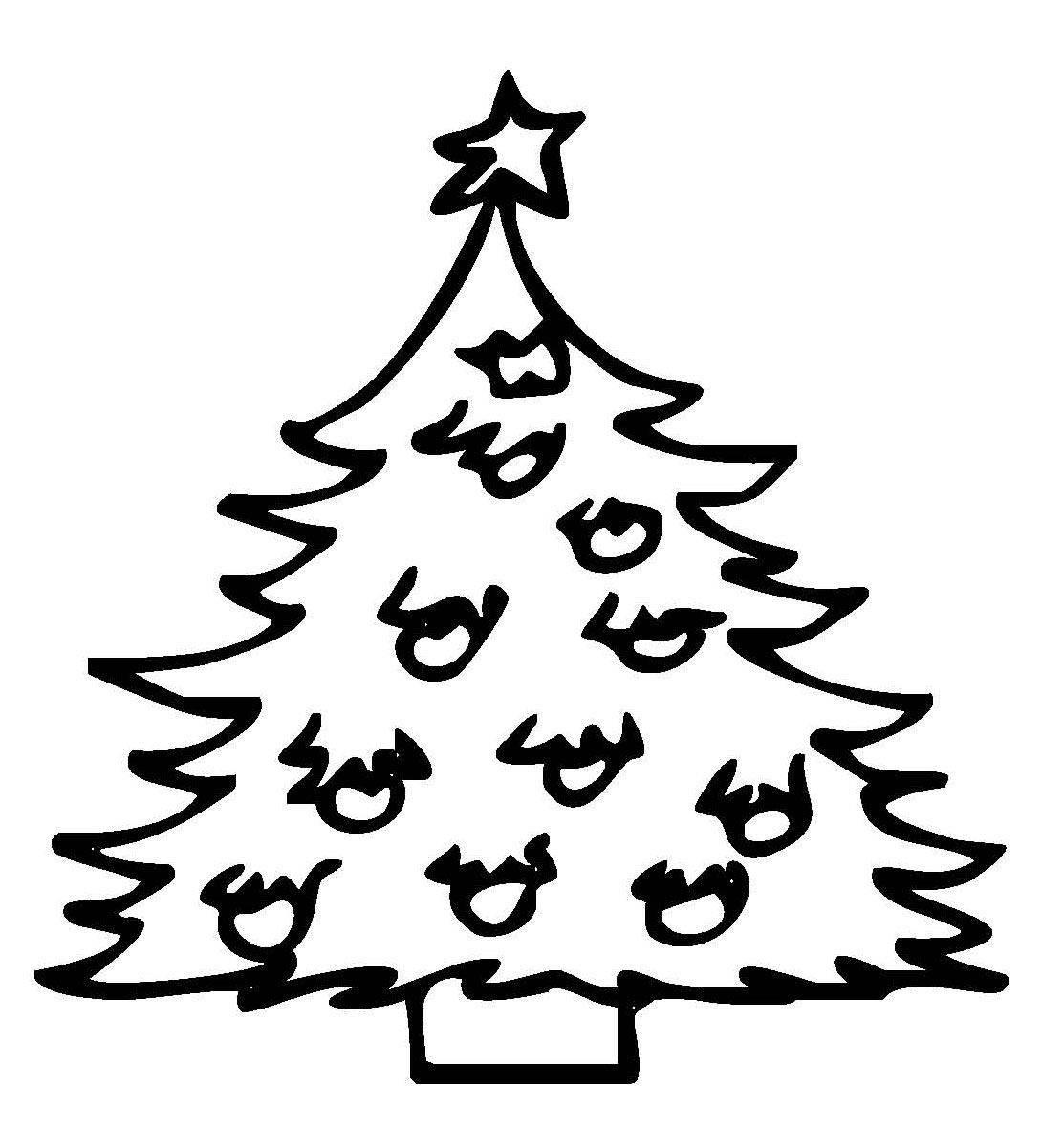 Ausmalbilder Weihnachten Christbaum Genial Tannenbaum Umries Malvorlage Bild