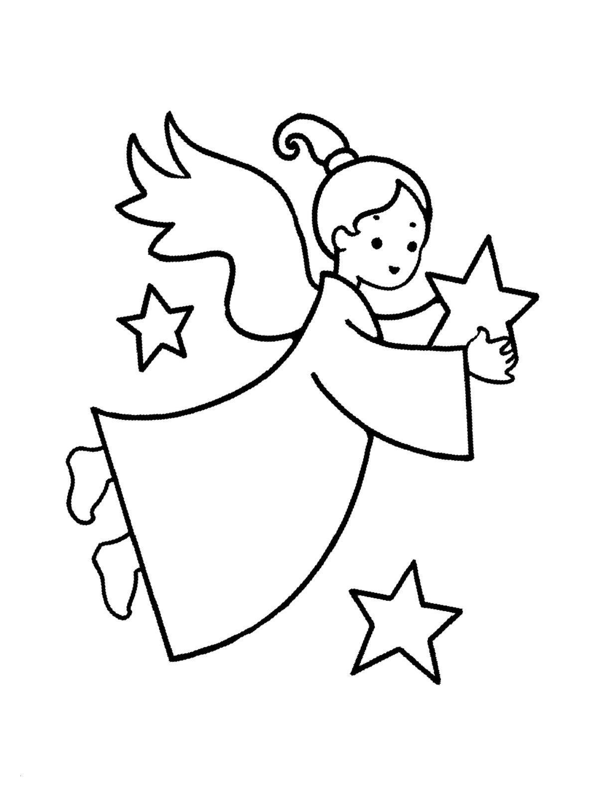 Ausmalbilder Weihnachten Einfach Das Beste Von Ausmalbilder Weihnachten Engel Engel Zeichnen Für Kinder Sammlung