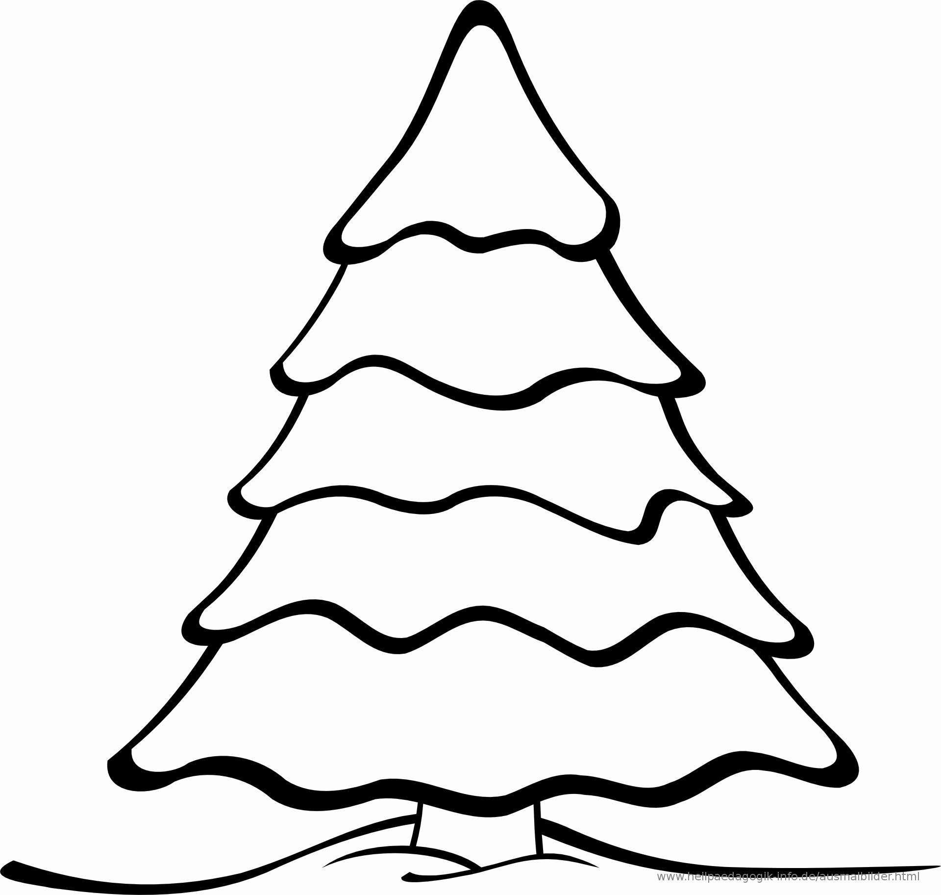 Ausmalbilder Weihnachten Einfach Neu Tannenbaum Ausmalbild Einzigartig Malvorlagen Tannenbaum Bild
