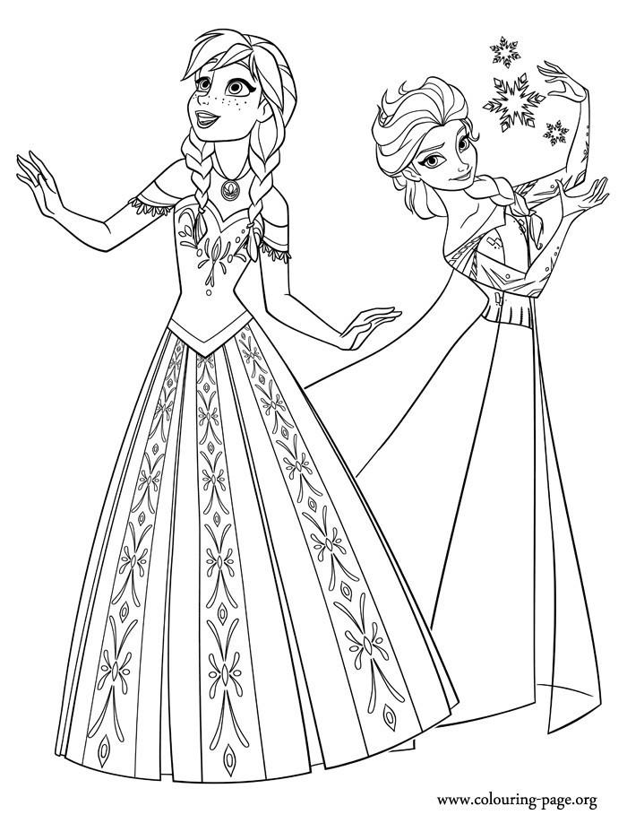 Ausmalbilder Weihnachten Elsa Und Anna Inspirierend 37 Disney Princess Coloring Pages Frozen Elsa Stock