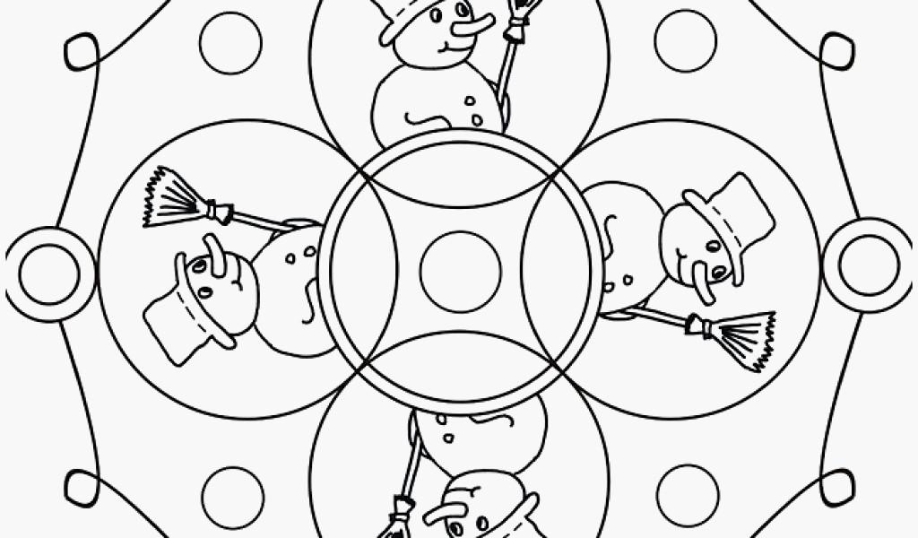 Ausmalbilder Weihnachten Erwachsene Kostenlos Neu Mandalas Weihnachten Zum Ausdrucken Ausmalbilder Für Bild