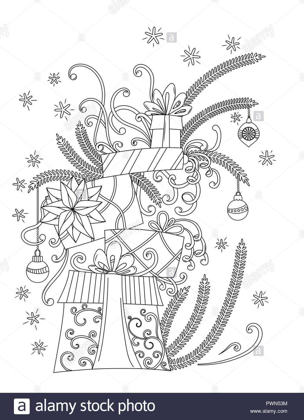 Ausmalbilder Weihnachten Für Erwachsene Zum Ausdrucken Inspirierend Weihnachten Malvorlagen Malbuch Für Erwachsene Stapel Von Sammlung