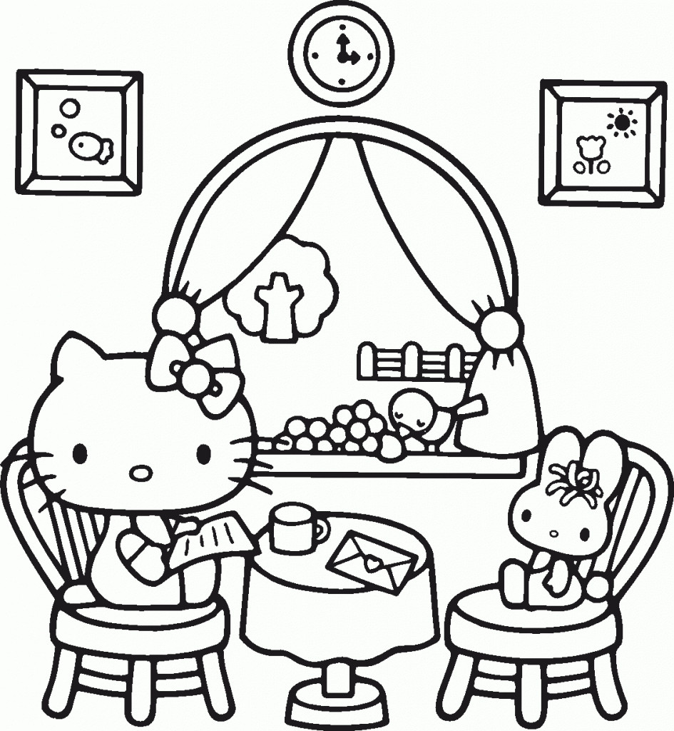 Ausmalbilder Weihnachten Hello Kitty Frisch Kostenlose Malvorlagen Hello Kitty Bilder