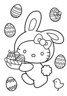 Ausmalbilder Weihnachten Hello Kitty Neu Hello Kitty Easter Coloring Pages Printable Beautiful 25 Fotos