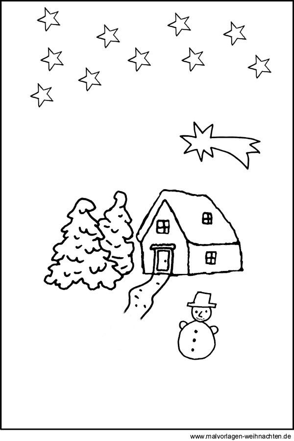 Ausmalbilder Weihnachten Jesu Geburt Genial Malvorlage Haus In Bethlehem Bilder