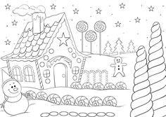 Ausmalbilder Weihnachten Lebkuchenhaus Genial Die 37 Besten Bilder Von Kostenlose Ausmalbilder Galerie