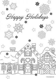 Ausmalbilder Weihnachten Lebkuchenhaus Genial Die 37 Besten Bilder Von Kostenlose Ausmalbilder Stock