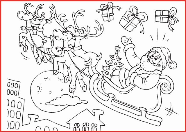Ausmalbilder Weihnachten Nussknacker Das Beste Von Weihnachtsmann Mit Schlitten Und Rentieren Neu Ausmalbilder Fotografieren
