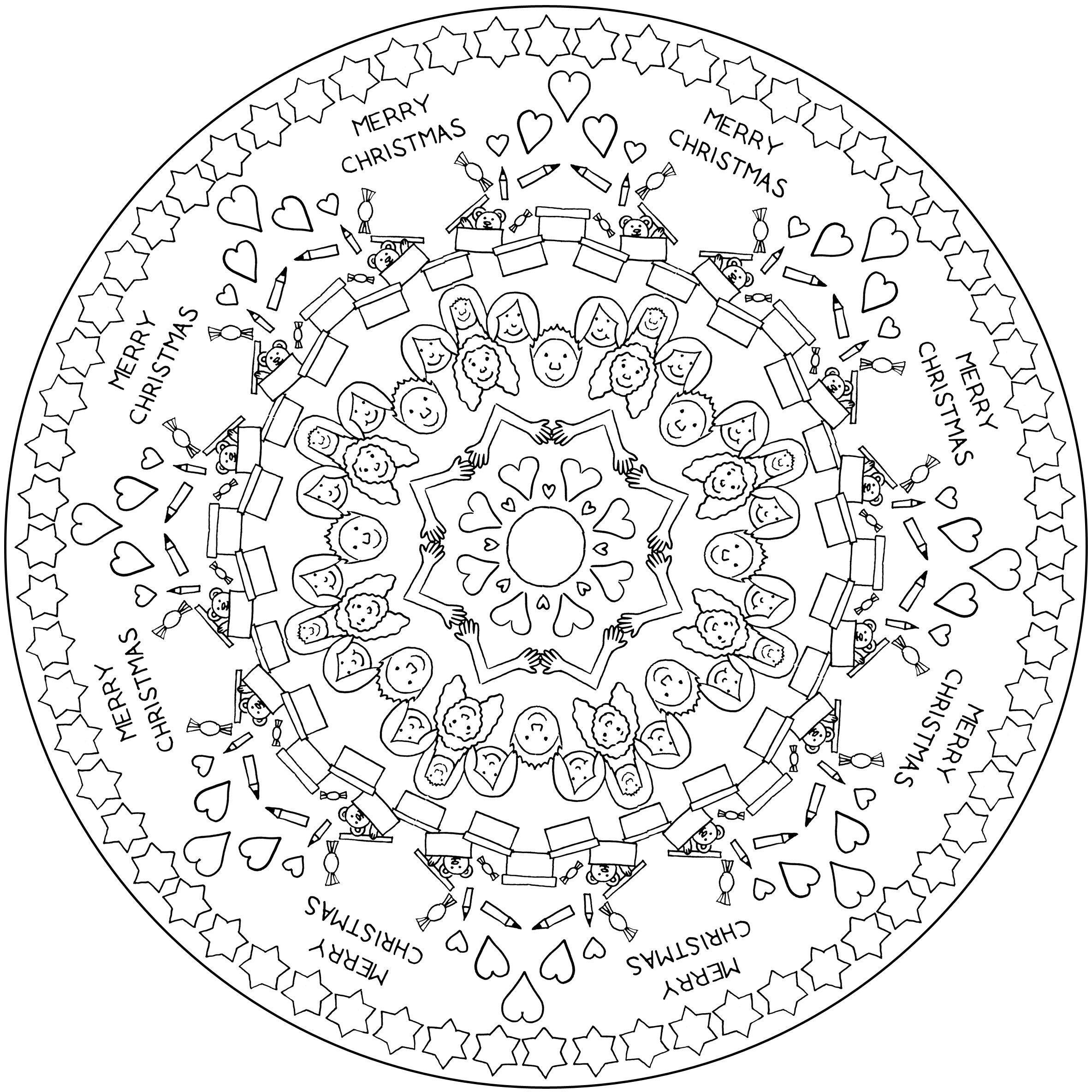 Ausmalbilder Weihnachten Online Ausmalen Neu Mandalas Zum Ausdrucken Weihnachten Frisch Einzigartig Fotos