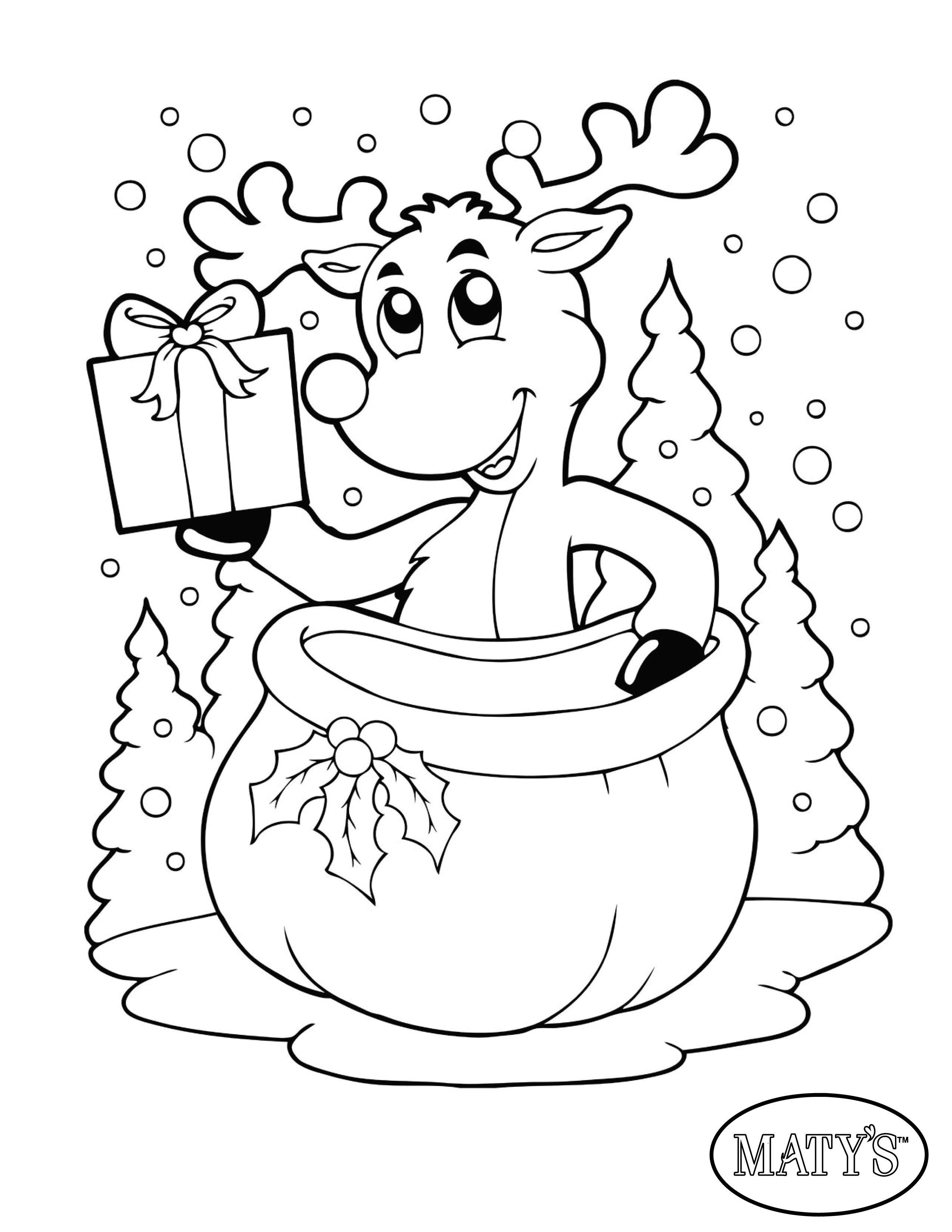 Ausmalbilder Weihnachten Rudolph Das Beste Von Here S A Holiday Printable to Keep the Kids Busy while You Fotos