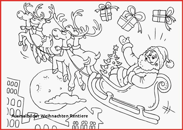 Ausmalbilder Weihnachten Rudolph Neu Weihnachten Malvorlagen Rentier Rentier Vorlage Zum Das Bild