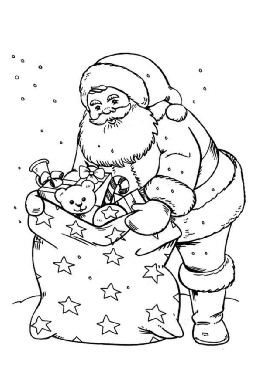 ausmalbilder weihnachten schlitten inspirierend