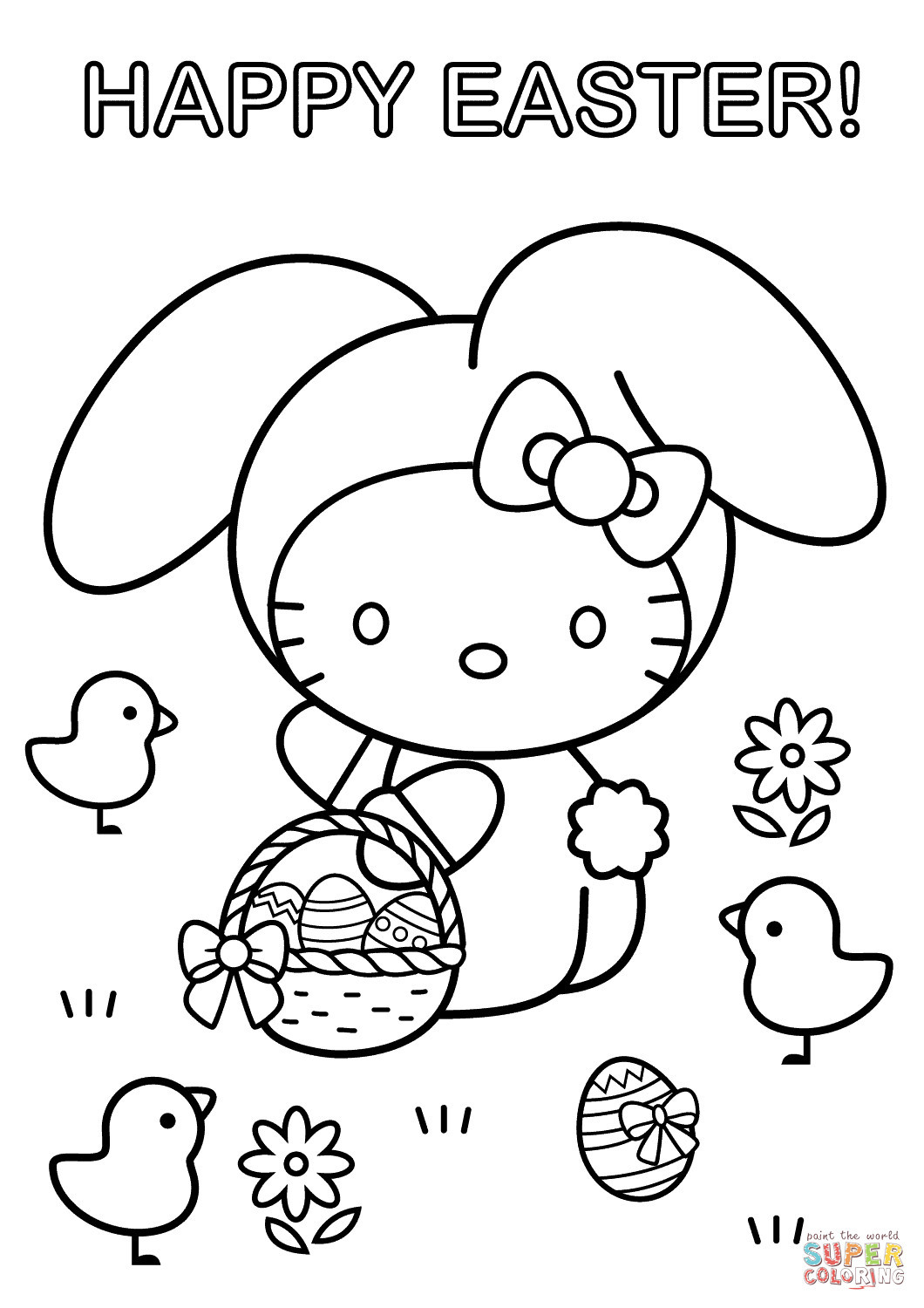 Ausmalbilder Weihnachten Supercoloring Genial Hello Kitty Easter Coloring Pages Printable Beautiful 25 Fotos