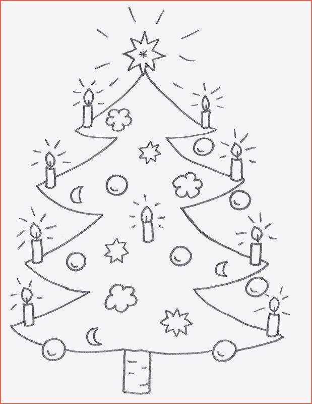 Ausmalbilder Weihnachten Tannenbaum Frisch Tannenbaum Zum Ausmalen Galerie