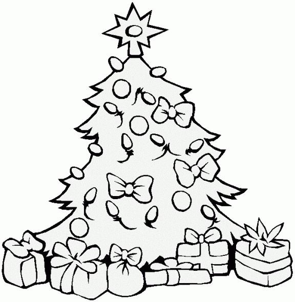 Ausmalbilder Weihnachten Tannenbaum Mit Geschenken Frisch Tannenbaum Zum Ausmalen Sammlung