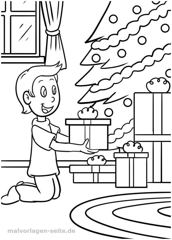 Ausmalbilder Weihnachten Tannenbaum Mit Geschenken Genial 10 Best Malvorlage Weihnachten Geschenke Druckfertig Bilder