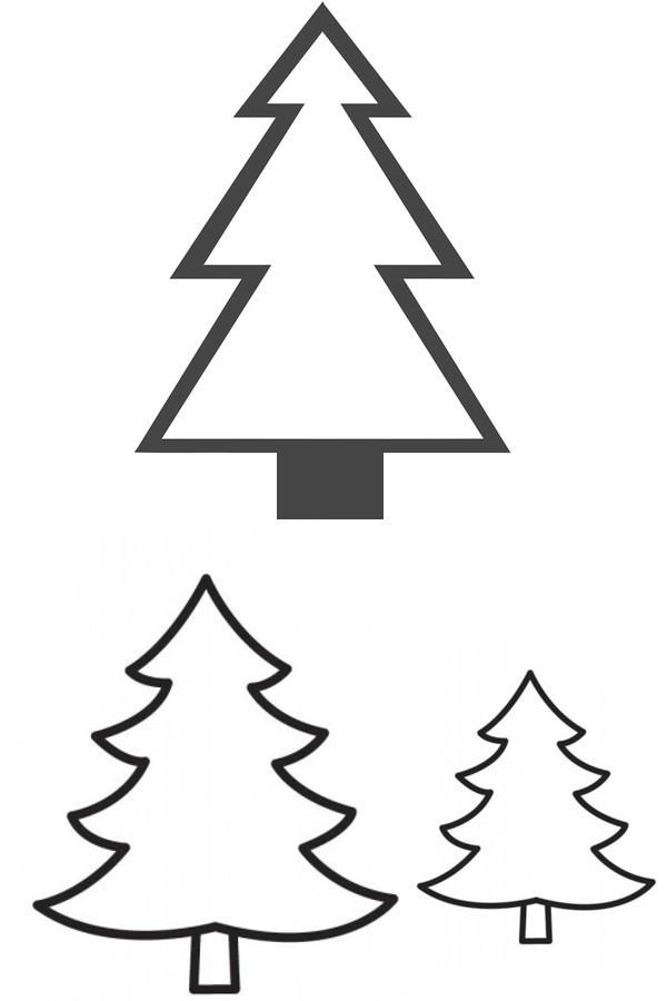 Ausmalbilder Weihnachten Tannenbaum Mit Geschenken Genial Tannenbaum Malvorlage Sammlung