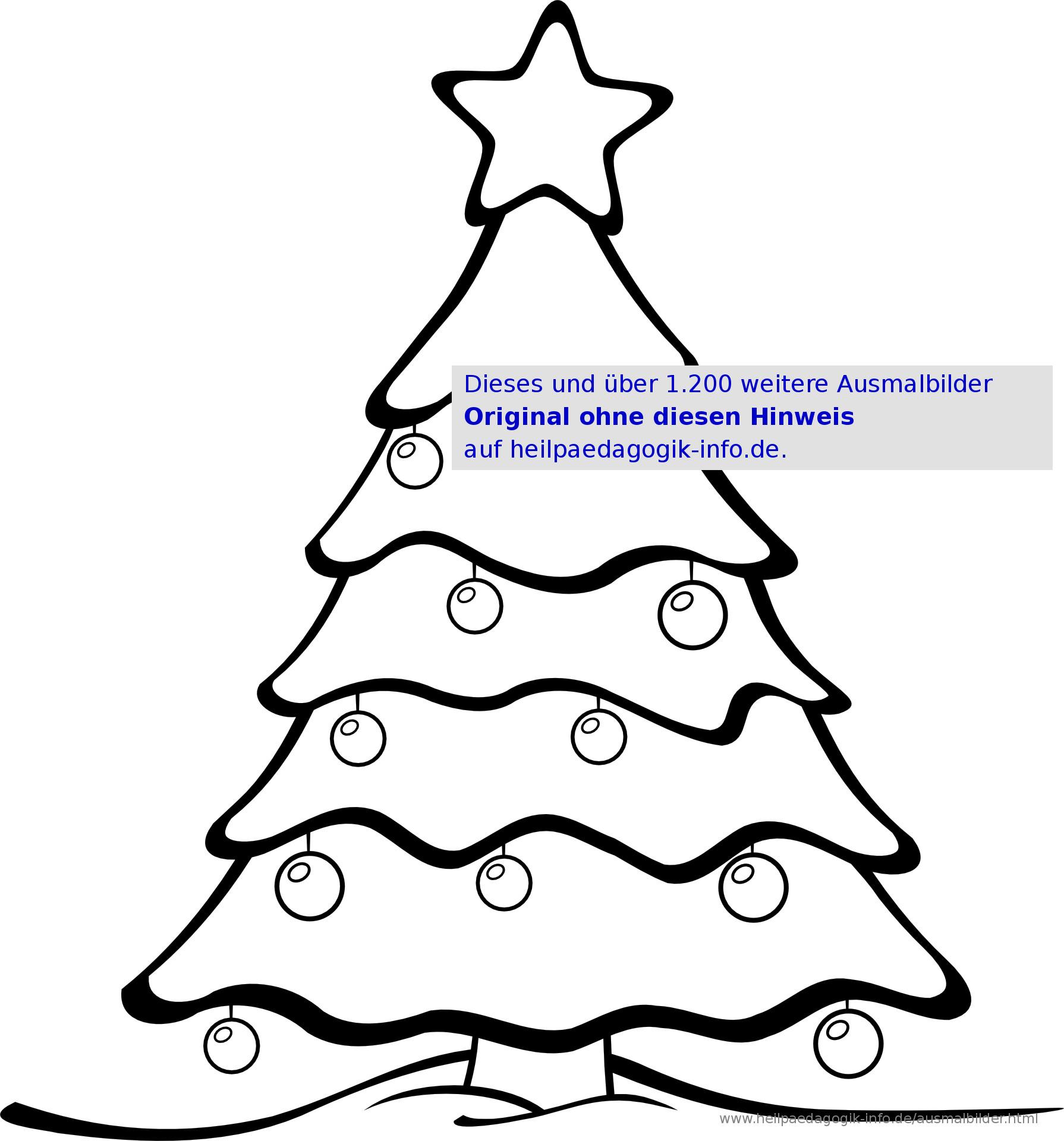 Ausmalbilder Weihnachten Tannenbaum Mit Geschenken Inspirierend Ausmalbilder Weihnachten Bild