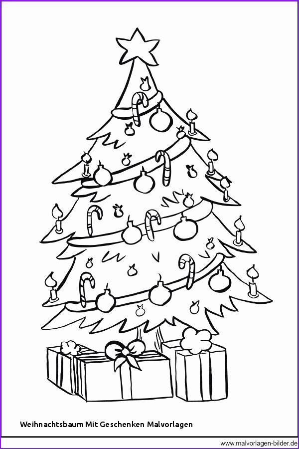 Ausmalbilder Weihnachten Tannenbaum Mit Geschenken Inspirierend Weihnachtsbaum Vorlage Bilder