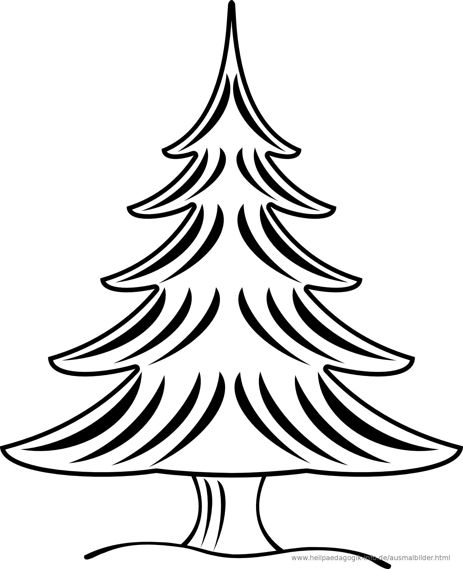 Ausmalbilder Weihnachten Tannenbaum Mit Geschenken Neu Ausmalbilder Weihnachten Bilder