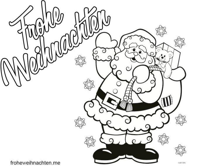 weihnachtsbilder malen malvorlagen weihnachten