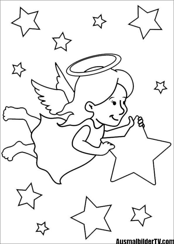 Ausmalbilder Weihnachten Zum Ausdrucken Einzigartig Engel Bilder Zum Ausmalen Und Ausdrucken Engel Ausmalbilder Fotos