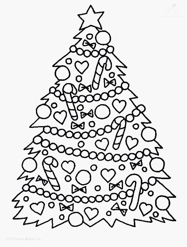 Malvorlagen Weihnachten Din A4 Einzigartig Weihnachtsbaum Mit Geschenken Zum Ausmalen Malvorlagen Bild