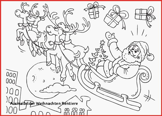 Malvorlagen Weihnachten Din A4 Genial Rentier Vorlage Ausdrucken Rentier Malvorlagen Färbung Bild