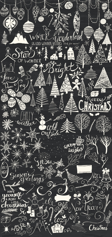 Malvorlagen Weihnachten Fenster Frisch F Winter Wonderland Bundle by Studio Denmark On Stock