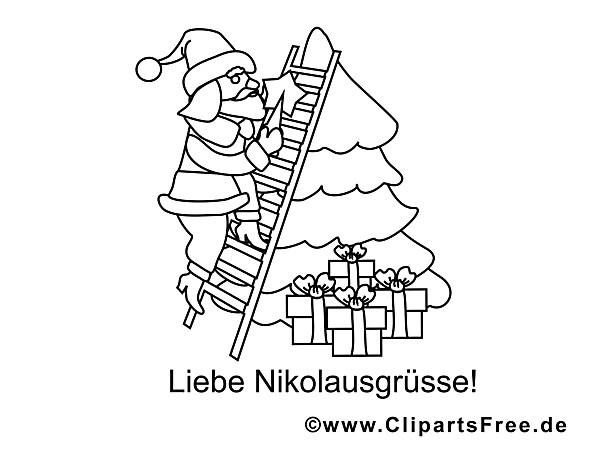 Malvorlagen Weihnachten Tannenbaum Inspirierend Tannenbaum Ausmalbild Einzigartig Nikolaus Tannenbaum Fotos