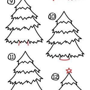 Malvorlagen Weihnachten Tannenbaum Neu Tannenbaum Selber Zeichnen Archives Ae De New Stock