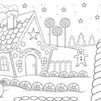 Malvorlagen Weihnachten Winter Das Beste Von Weihnachtsbilder Malen Malvorlagen Weihnachten Stock