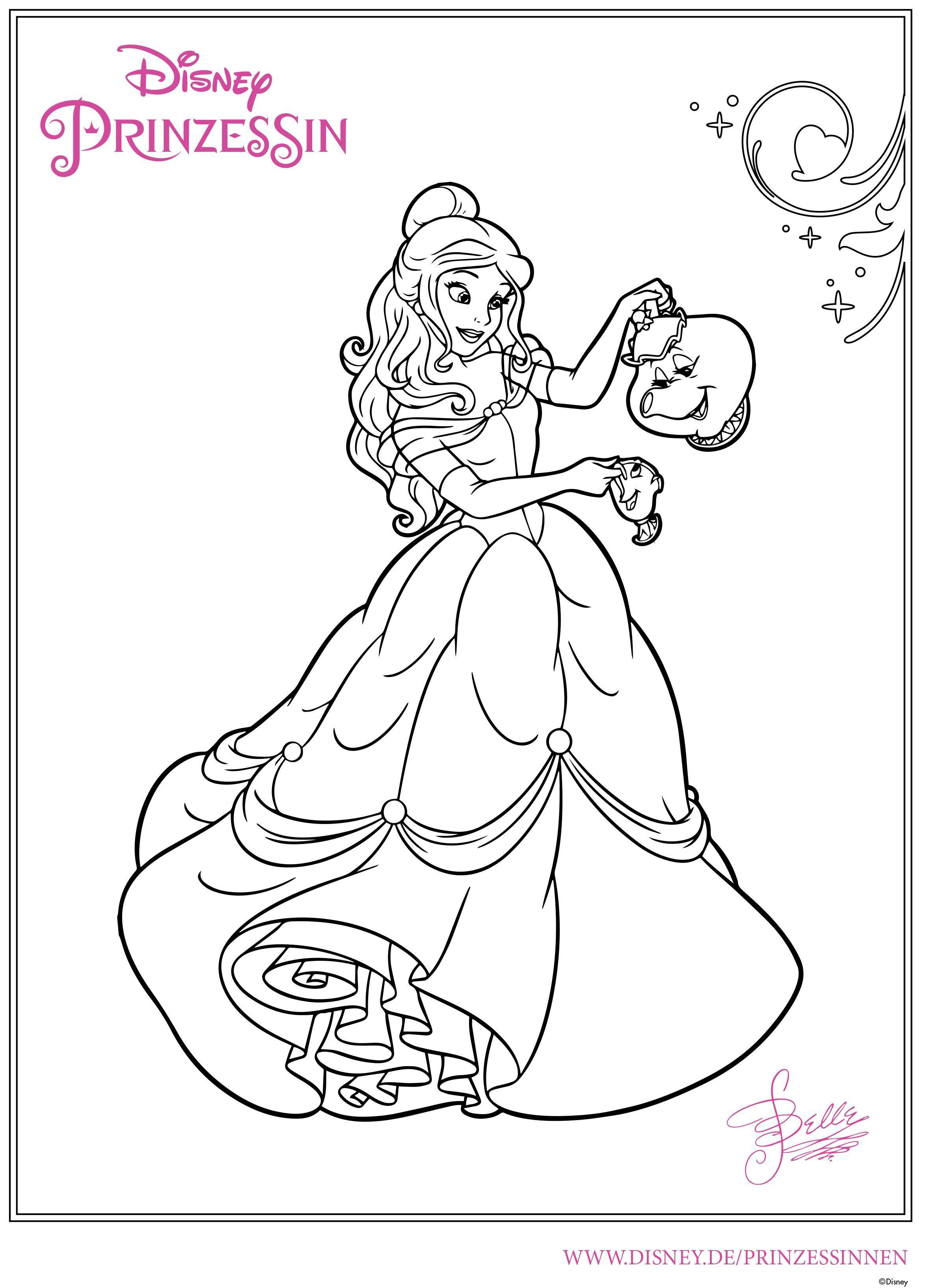 Ausmalbilder Prinzessin Ausdrucken Frisch Ausmalbilder Belle 346 Malvorlage Alle Ausmalbilder Y7du Galerie
