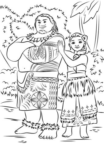 Ausmalbilder Prinzessin Baby Genial Ausmalbilder Vaiana Tui Und Sina 3ldq Fotografieren