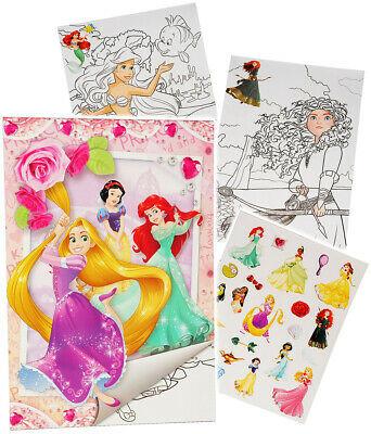 """Ausmalbilder Prinzessin Disney Prinzessinnen Inspirierend Sticker & Malblock """" Disney Princess Prinzessin Tldn Bild"""