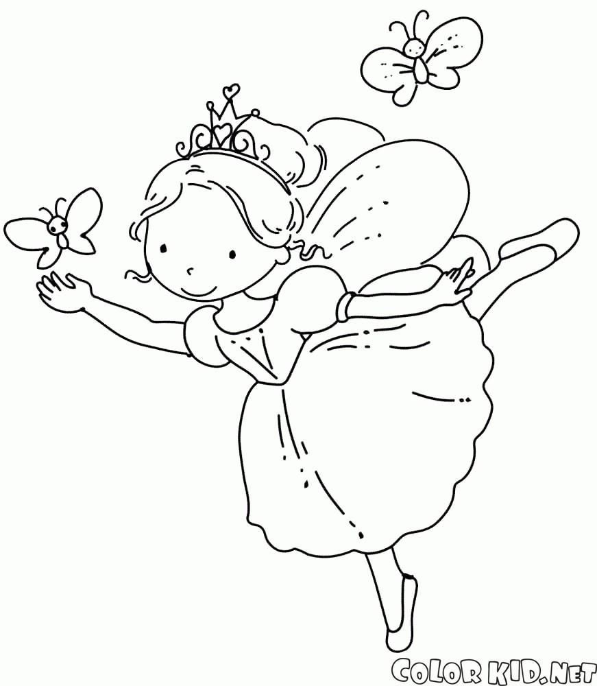 Ausmalbilder Prinzessin Feen Frisch Ballarina Malvorlagen Giap O2d5 Sammlung