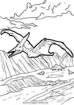 Ausmalbilder Prinzessin Gratis Das Beste Von Malvorlage Pteranodon Ausmalbilder Für Kinder Dddy Bilder