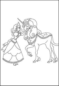 Ausmalbilder Prinzessin Pegasus Einzigartig Malvorlage Einhorn Mit Flügel Und Ein Mensch Fmdf Sammlung