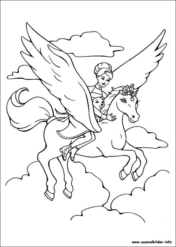 Ausmalbilder Prinzessin Pegasus Frisch Malvorlagen Einhorn Pegasus Kvdd Bild