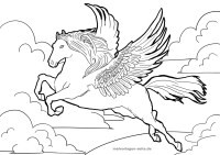 Ausmalbilder Prinzessin Pegasus Neu Malvorlagen Einhorn Pegasus Dddy Bild