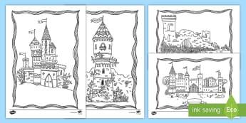 Ausmalbilder Prinzessin Schloss Das Beste Von 1 2 Klasse Kunst Primary Resources Materialien Auf D 8ydm Fotografieren