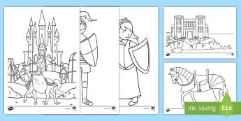 Ausmalbilder Prinzessin Schloss Frisch 1 2 Klasse Kunst Primary Resources Materialien Auf D Budm Stock
