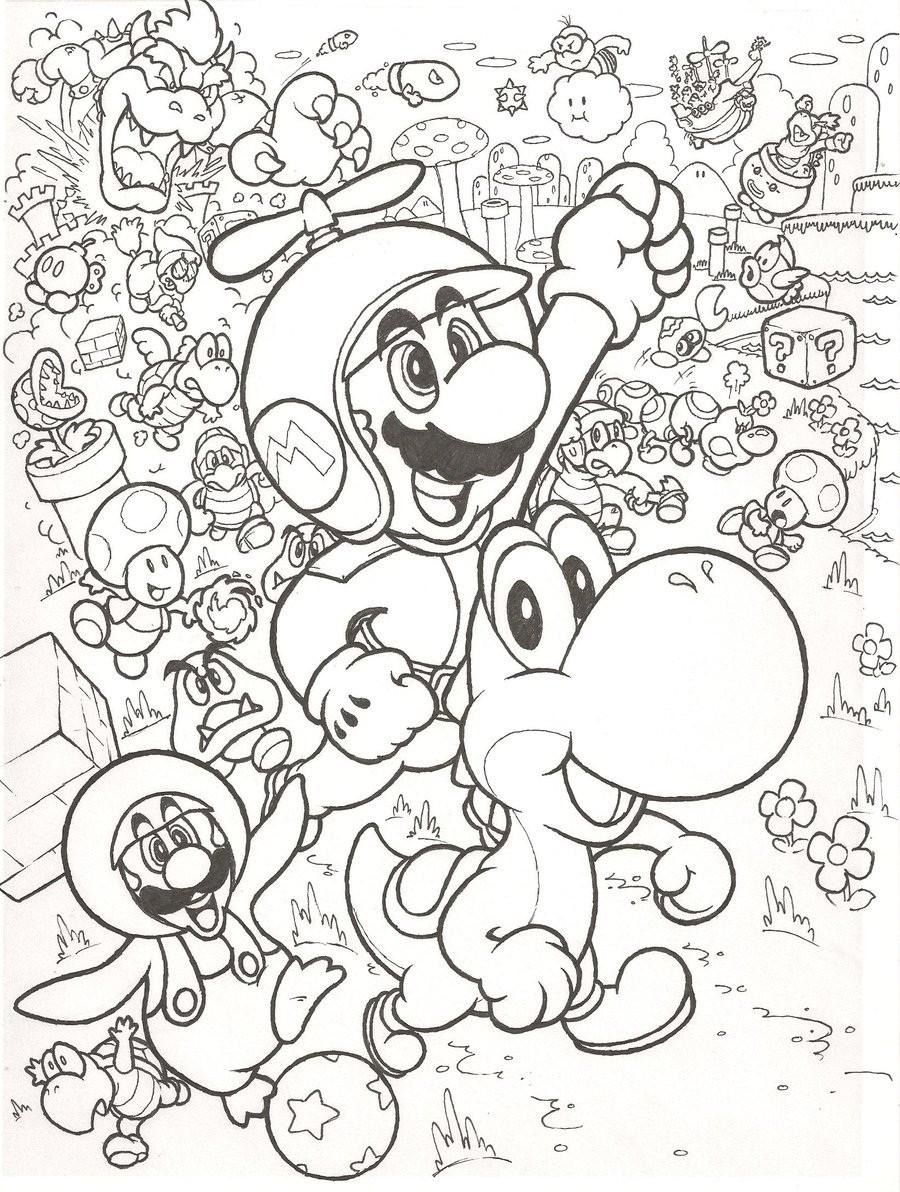 Ausmalbilder Prinzessin Schloss Neu New Super Mario Bros Wii by Mattdog before Nintendo Thdr Das Bild
